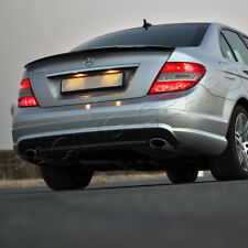 FIT 2008-2014 MERCEDES-BENZ C-CLASS W204 AMG STYLE REAL CARBON TRUNK SPOILER