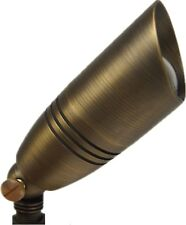 Brass MR16 12V SPOT Light Landscape Fixture with wire and spike