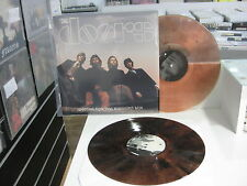 THE DOORS 2 LP WAITING FOR THE MIDNIGHT SUN BROWN CLEAR VINYL RARE