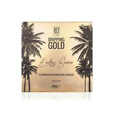 SOSU Dripping Gold Bronzing Powder Face & Body Illuminating Shimmer Bronzer