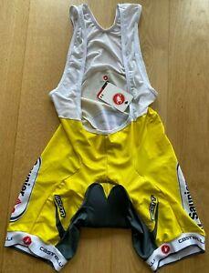Brand New Original CASTELLI KISS PAD Cycling Bibshort 2XL