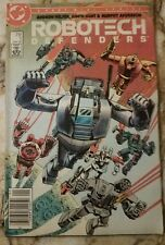 ROBOTECH: DEFENDERS #1 VF- NEWSSTAND EDITION 1985 DC COMIC 2