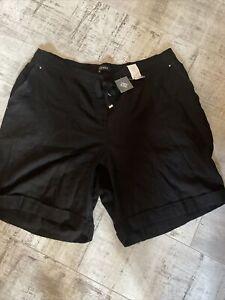 EVANS ladies Linen shorts Size 22 BRAND NEW RP £20