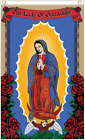 Our Lady of Guadalupe Polyester Banner Flag