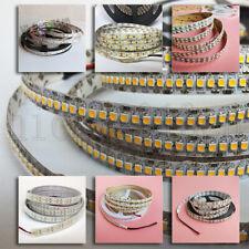 12V 5M 3528 LED Flexible Strip Light Tape 300/600/1200LEDs Single Double Row
