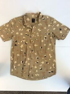 RVCA Shirt Mens Size M VGC + Free Delivery