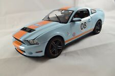 "2012 Ford Shelby/Mustang gt500 ""Gulf"" 1:18 Greenlight 12990"