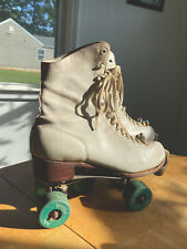 Vintage 1914 Chicago RollerSkate Co. Ware Bros. Size 6-Great Condition