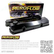 AEROFLOW FABRICATED ROCKER COVERS V8 304-355 [HOLDEN VQ-VR-VS STATESMAN/CAPRICE]
