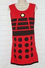 Her Universe Doctor Who Sz L Dalek Print Exterminate Dress Cosplay Halloween