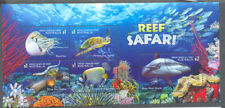 Australia-Reef Safari Aug.2018-min sheet fine used cto-Sharks-Fish