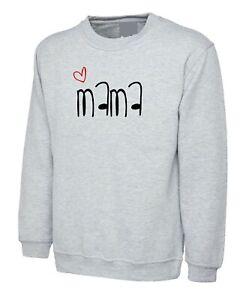 Mom Sweatshirt Jumper Mama Mommy Mother's Day Gift Birthday Xmas Best Mom Ever