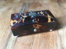 BOITE EN ECAILLE #TORTUE TORTOI FRENCH LUXURY BOX VITRINE