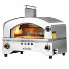 Big Horn 2 Burner Portable Stainless Steel Propane Steak Beefer Gas Pizza Grill  photo