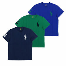 Polo Ralph Lauren Mens T-Shirt Crew Neck Embroidered Big Pony Logo New Nwt