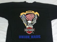 New listing Vtg Harley Davidson T Shirt Union Pace American Made
