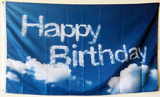 Happy Birthday banner 3'x5' outdoor Flag Large Flag