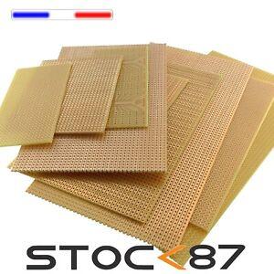 1 à 10pcs Plaque d'essais à pastille ou bande plusieurs formats - breadboard PCB
