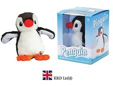Tobar CUTE PENGUIN Pet Animal Toy Soft Plush LikeReal Kids Birthday Gift
