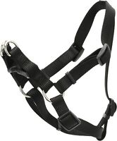 Coastal Pet Products DCP6645BLK Nylon Comfort Wrap Adjustable Dog Harness, 3/4""