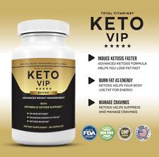Keto VIP Pills Keto Supplement For Advanced Weight Loss Diet Ketosis Fast Burn