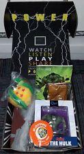 Loot Crate Power May 2016 Complete Hulk Q-fig Warcraft Tshirt 2XL Pin DBZ