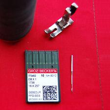 GROZ BECKERT  773552 DBX1/1738 FFG 80/12 boite de 10 AIGUILLES PROFESSIONNELLES