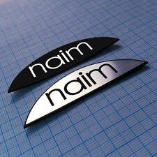 Naim Audio Metallic Sticker Badge 70 mm x 20 MM - 2 pieces