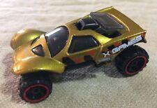 2014 Hot Wheels X Games Da'Kar Gold  Loose