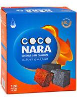 Coco-Nara Coconut hookah coconara coals shisha charcoals 120 tablet cube