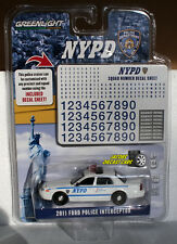 1:64  GREENLIGHT HOT PURSUIT 2011 FORD POLICE INTERCEPTOR * HOBBY EXCLUSIVE *