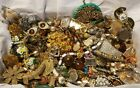2 LBS VINTAGE ANTIQUE JEWELRY JUNK DRAWER SIGNED MONET CORO NAPIER