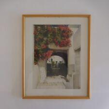 Reproduction lithography aquarelle peintre watercolor painter Didier GROS France