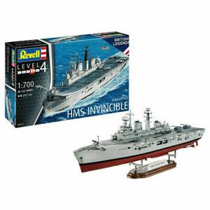 REVELL 05172 HMS Invincible (Falklands War) Ship 1:700 Plastic Model Kit