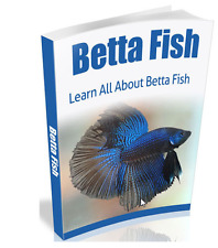 Betta Fish eBook -10 free eBooks bonus - resell rights - pdf format