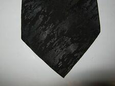 Michael James BOYS Tie Necktie 49.5 x 3 solid black 13949