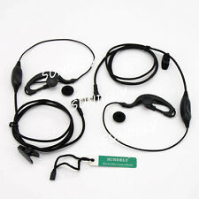 Brand new  2x Headset Earpiece Motorola MR350R MR355R  MR356R MH230R  MH370