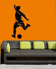 Mesleep Football Design Black PVC Wall Sticker - Wall Decal