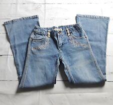 Women's Paris Blues Jeans Size 10 Flare Medium Wash Blue Denim