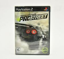 Need for Speed Pro Street PS2 Brand New Factory Sealed Not Mint