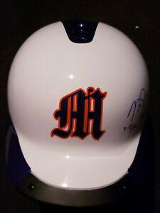 Mike Trout Signed & Inscribed Custom Millville Batting Helmet w/MLB coa