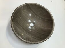Marble Stone Sink Bathroom Cloakroom Vessel Vanity Basin Bowl Fossil Grey IR15