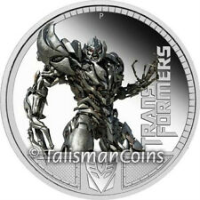 Perth Tuvalu 2009 Transformers 2 Revenge of Fallen Megatron $1 Pure Silver Proof