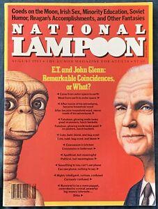 National Lampoon  Aug 1983  E.T.  John Glenn?
