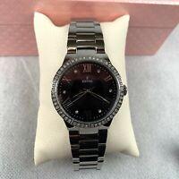 Festina Women's Quartz Watch Black Silver Stainless Steel Strap Analog F16719/2