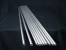 "*NEW*  Round Aluminum Tube Tubing - 3/8"" OD x .035"" x 23.44"" Long  (Qty - 10)"