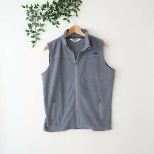 Mountain Khakis Men's Classic Fit Fleece Lined Zip Front Vest S Small Gray