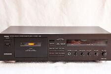 Vintage Yamaha KX-650 RS 3-cabeza/3-motor Cassette Deck. Dolby HX Pro/Dual Cabrestante/