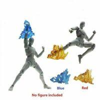 1pc Tamashii Action Figure Screw Impact Effect Flame for Kamen Rider Figma SHF
