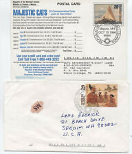 Two Marshall Islands covers 1990s topicals [L.192]